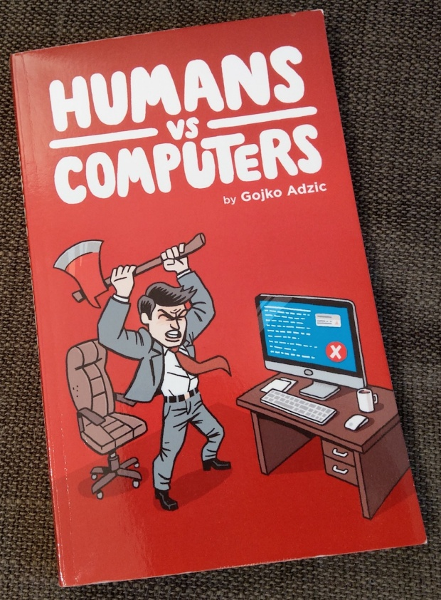 Humans vs Computers - Cover